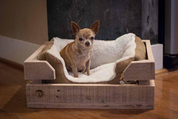 casinha de cachorro rústica