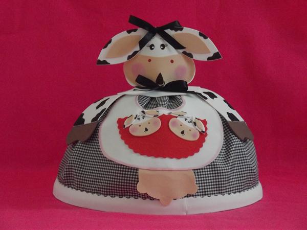 suporte para bolo em EVA