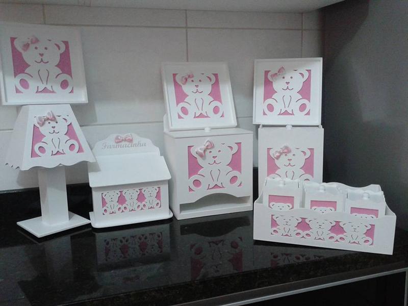 kit de higiene de bebê personalizado