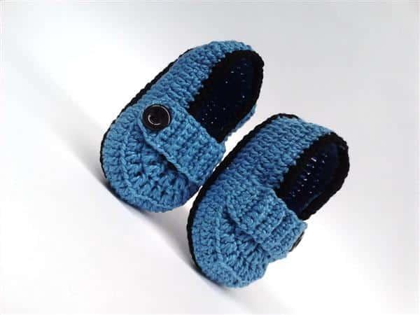 como fazer sapatinho de croche para bebe