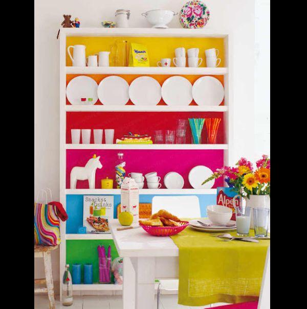 decoupage em armário de cozinha