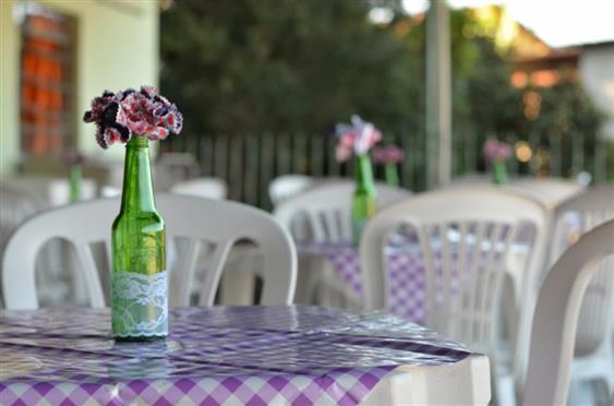 garrafa decoradas com renda