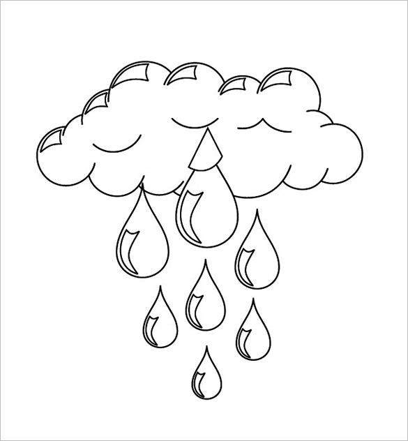 molde chaveiro nuvem de feltro