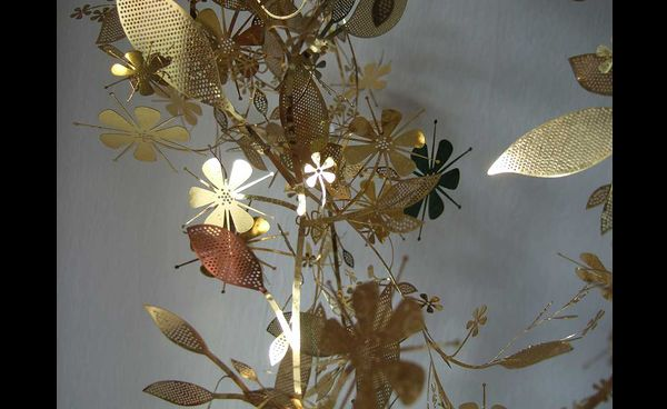 flores de latinha de alumínio