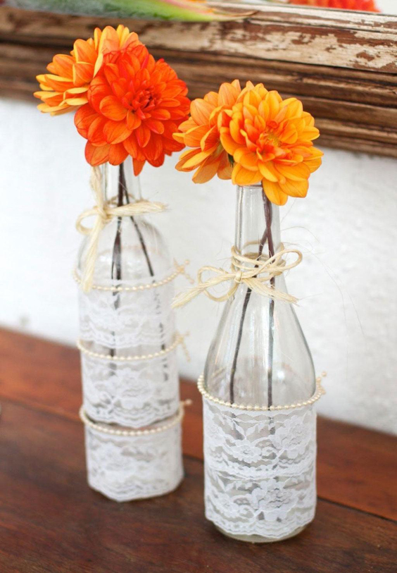 garrafa decorada com sisal