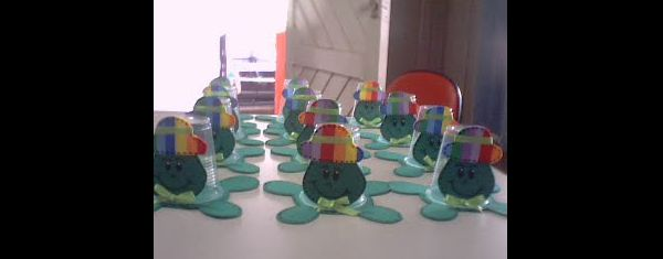 lembrancinha infantil de tartaruga
