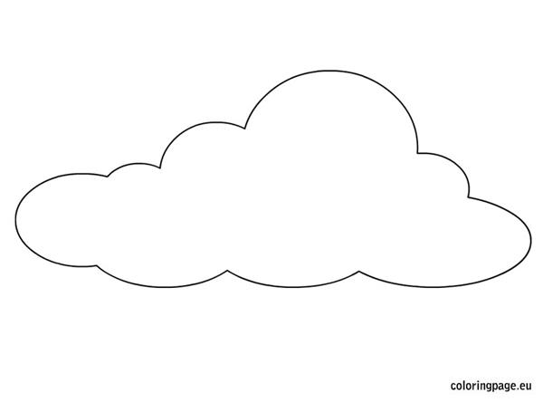 Molde De Nuvem 46 Modelos Para Imprimir Artesanato Passo A Passo