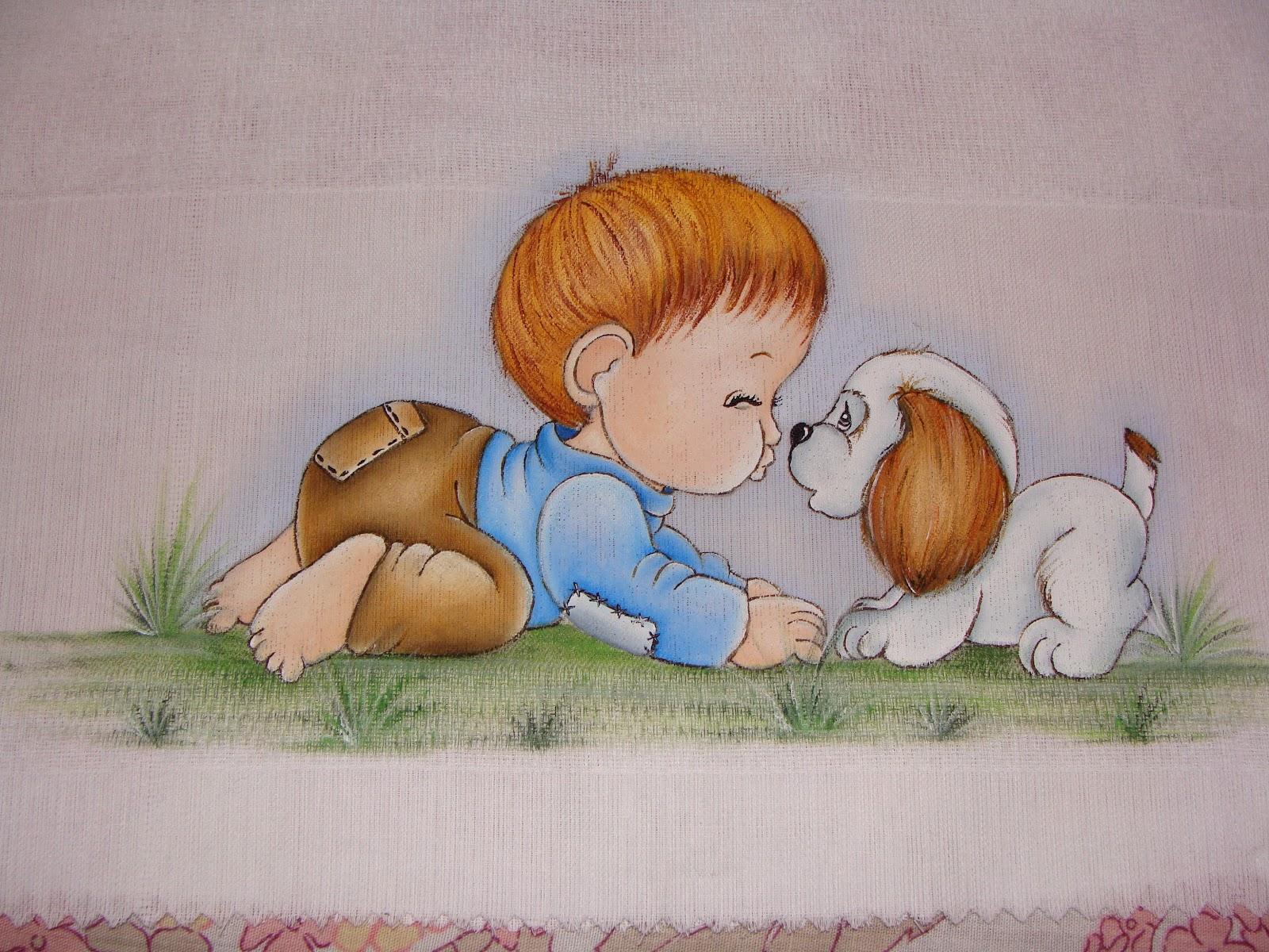 Pintura para bebe