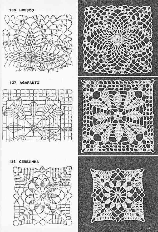 como fazer quadrado de croche