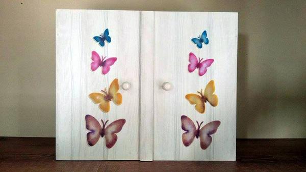 pátina em armário de cozinha