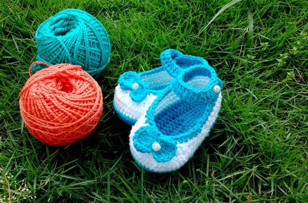 sapatinhos de croche