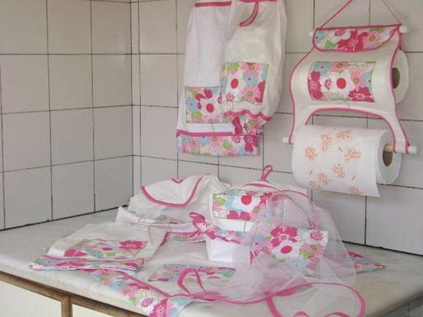 kit de cozinha de tecido