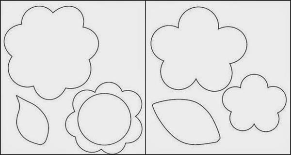 Molde de flor curvada