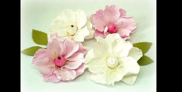 flor em eva delicada
