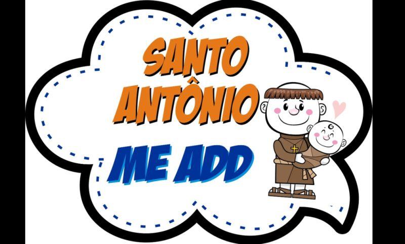 placa para casamento Santo Antônio