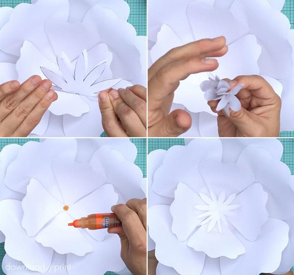 Molde de flor grande