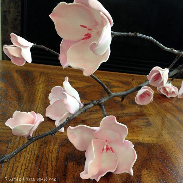 flor em eva no galho