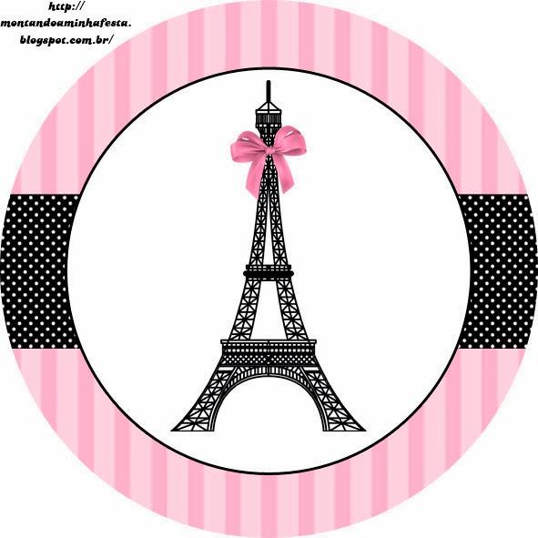 torre Eiffel topper