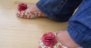 Como Customizar Sapatos: com Tecido