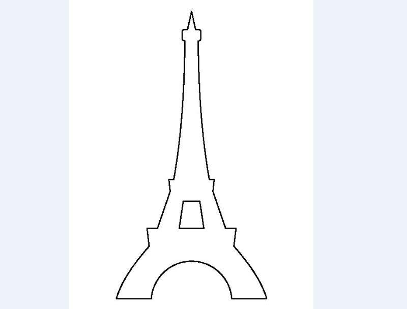 torre Eiffel molde