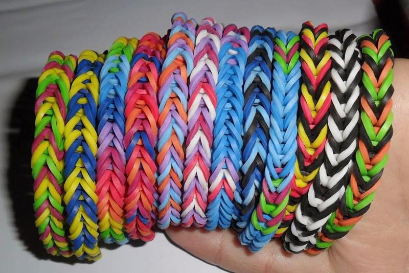 pulseiras coloridas