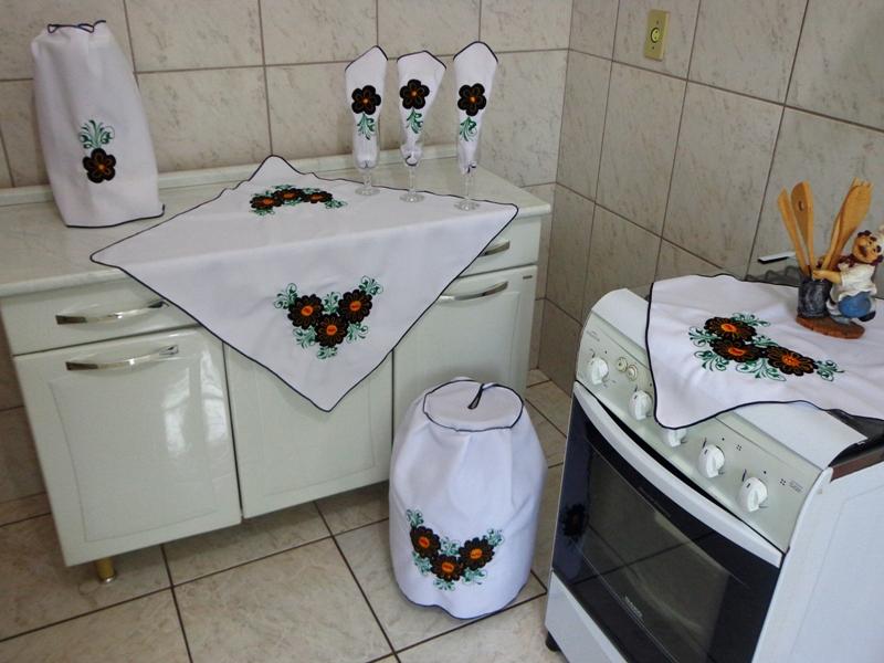 Artesanato Em Tecido Para Cozinha Passo A Passo ~ Artesanato em Tecido para Cozinha Passo a Passo