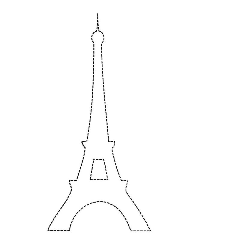 molde torre Eiffel
