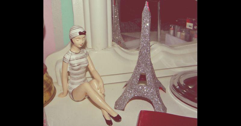 torre Eiffel glitter