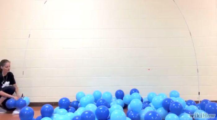 arco de balões início