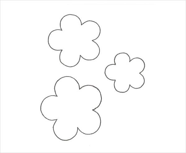 Molde de flor basica