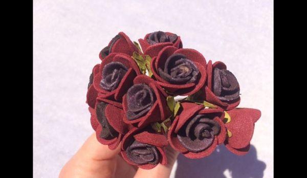 flor em eva mesclada
