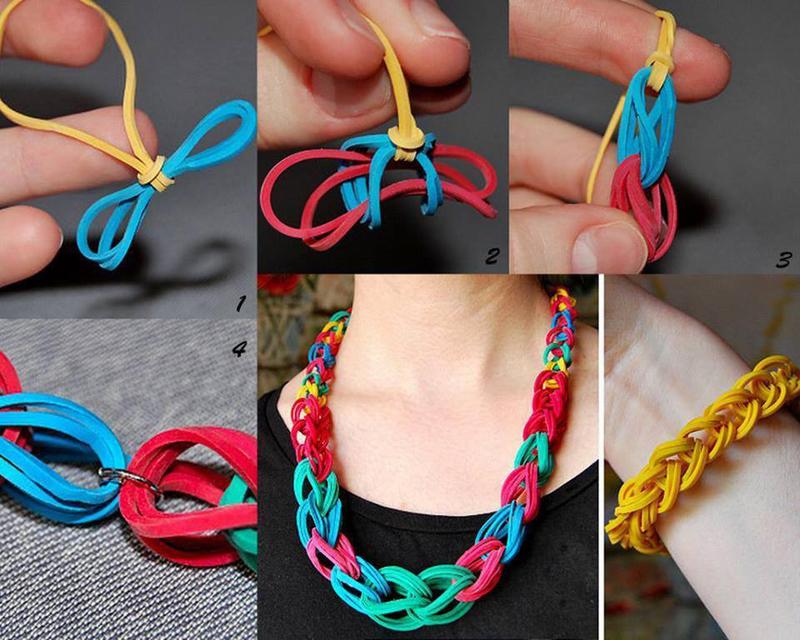 colar de elastico