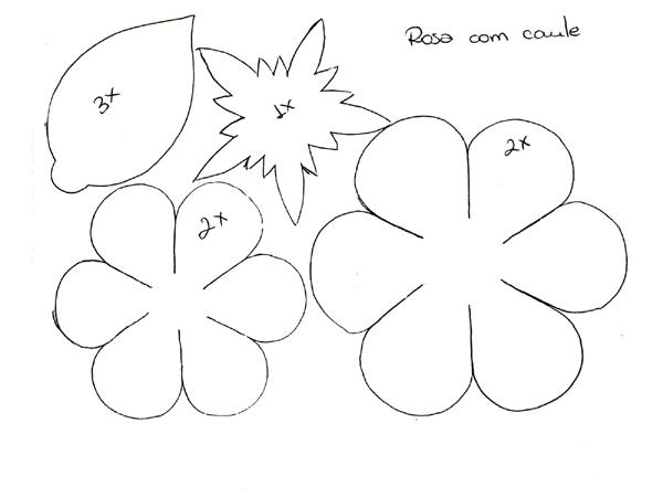 Molde de flor normal