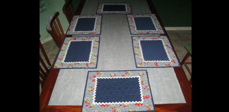jogo americano patchwork