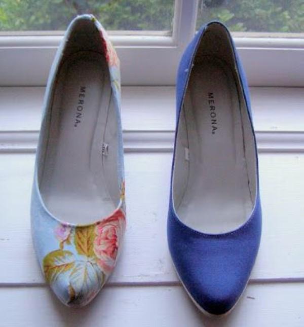 como customizar sapatos antigos