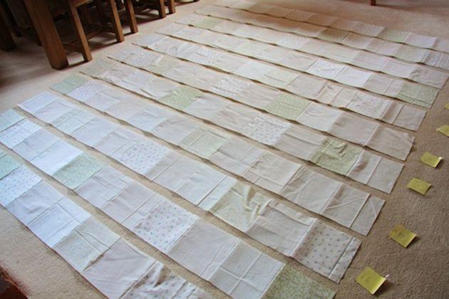 retalhos de tecido velhos