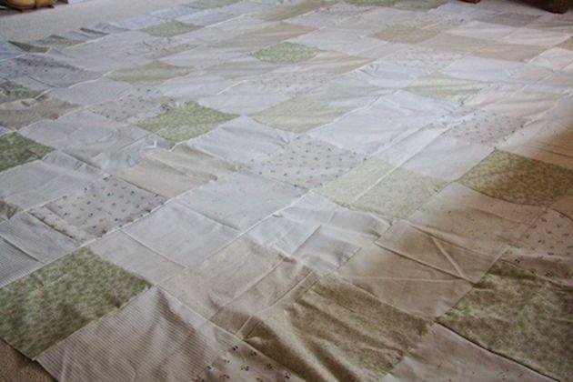 retalhos de tecido para colcha artesanal