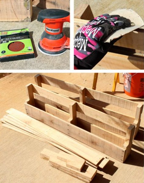 prateleira de madeira passo a passo
