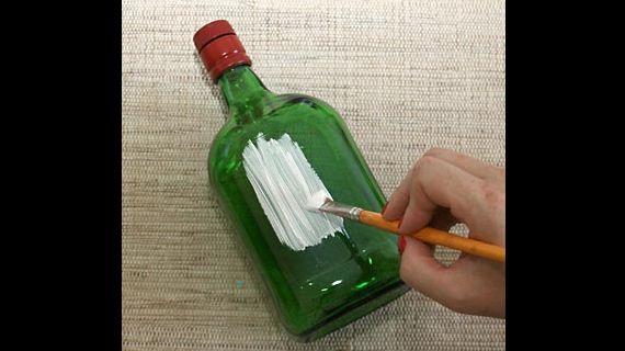 pintura de garrafão