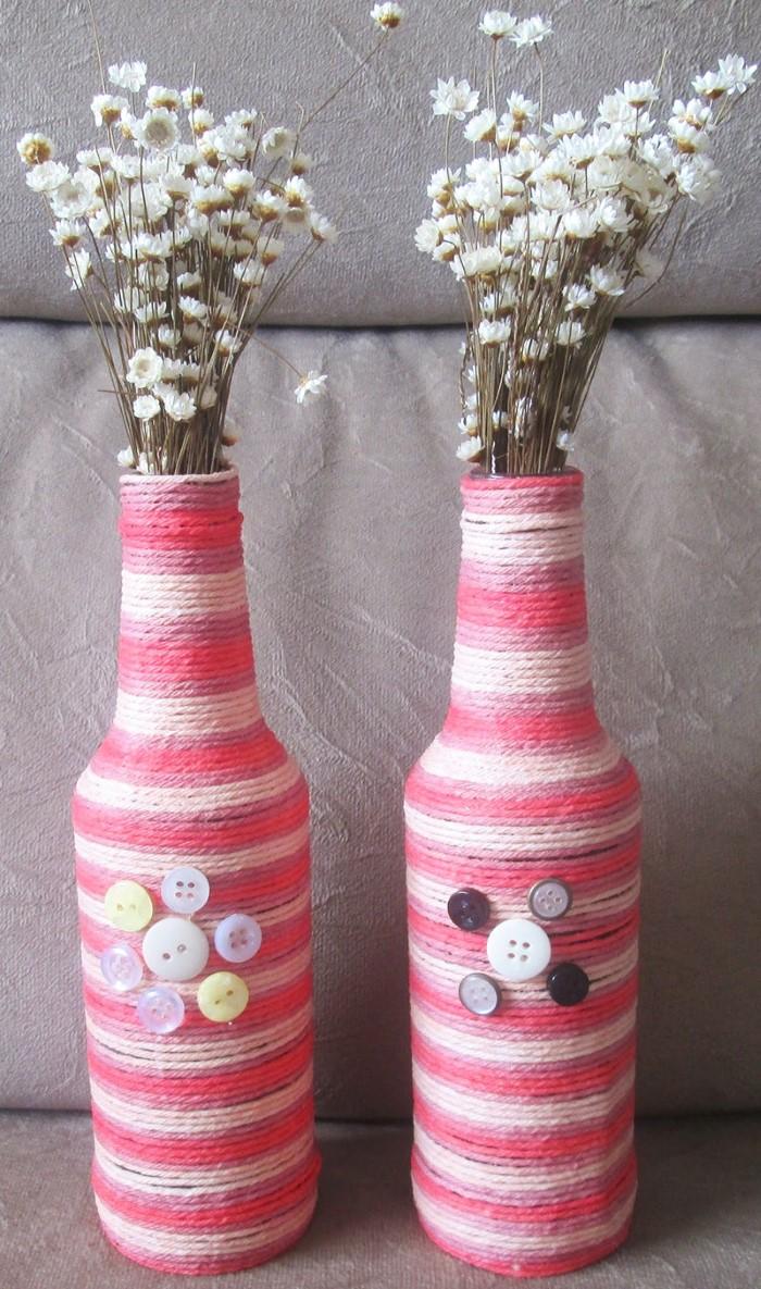garrafa decorada linha