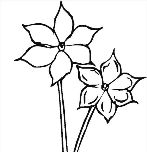 Molde de flores juntas