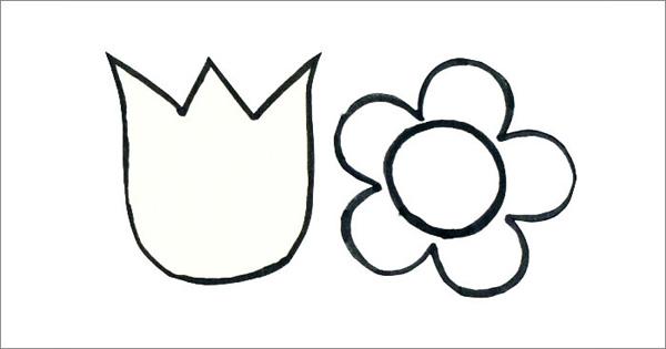 Molde de flor facil