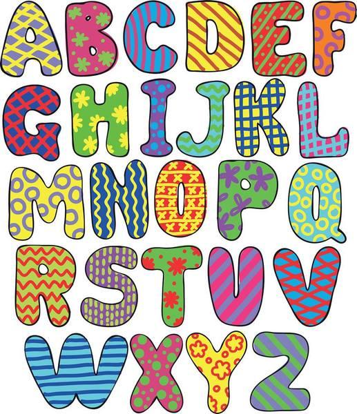 molde de letras para imprimir