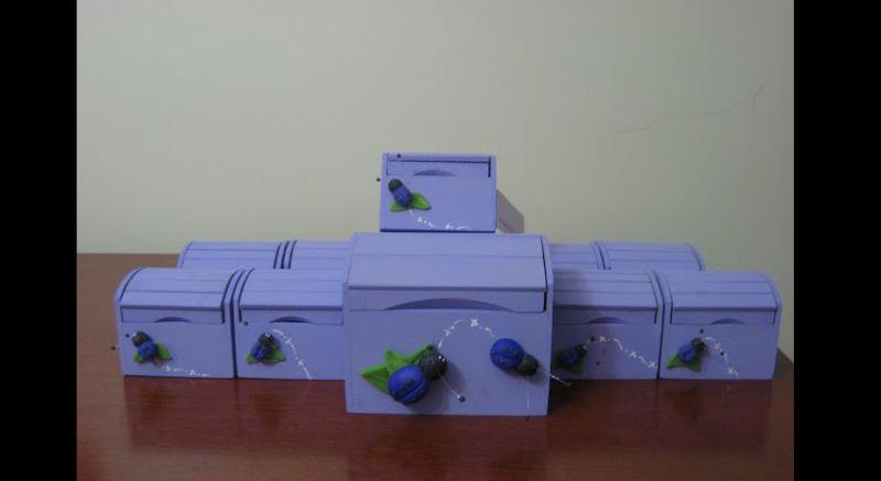 caixa mdf
