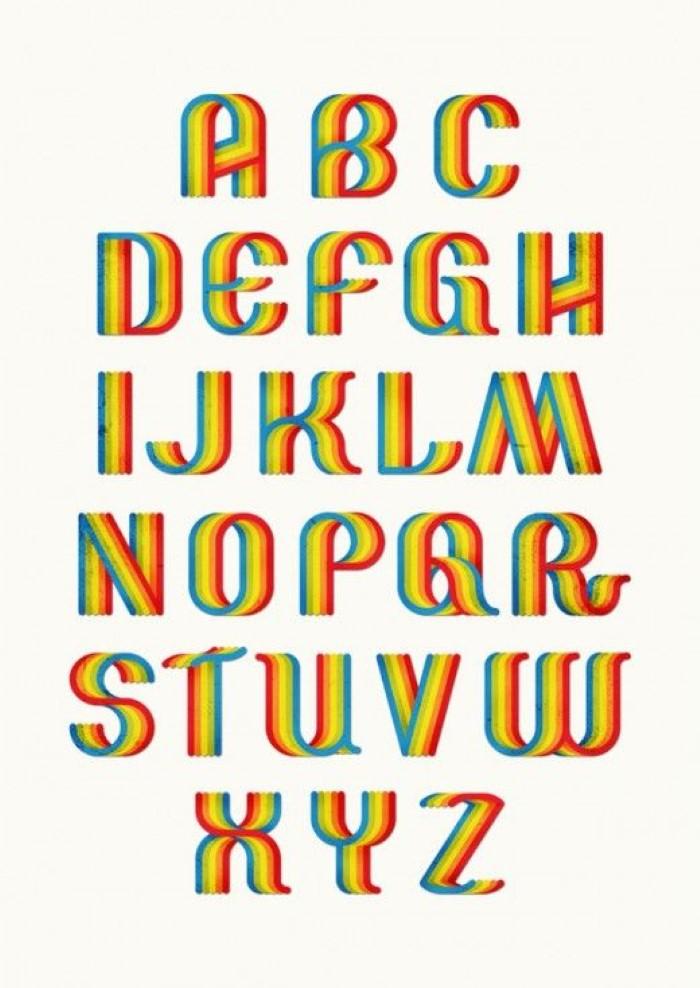molde de letras para patch aplique