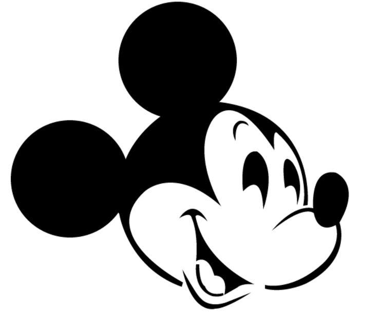 molde de mickey mouse bebe