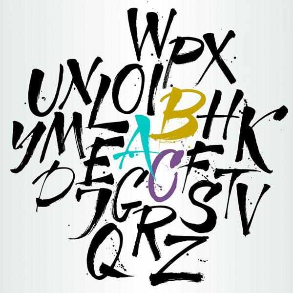 moldes de letras do alfabeto
