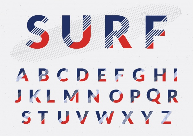 molde de letras de eva