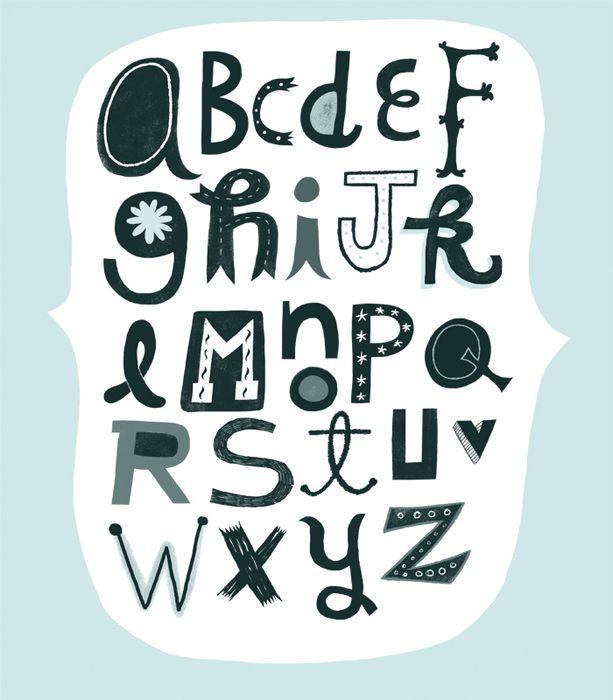 molde de letras de feltro