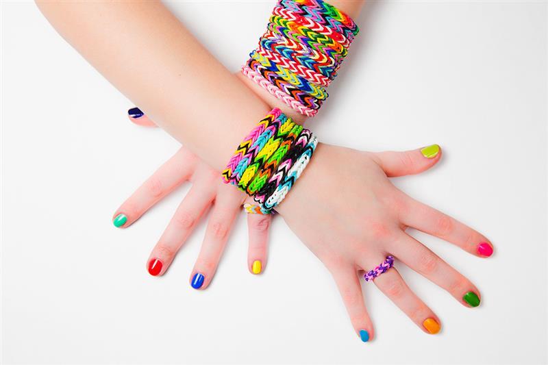 pulseira com elastico simples